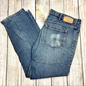 Calvin Klein Jeans Mens Relaxed Straight Easy Fit
